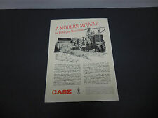 J.I. Case Farm Equipment & Implements Print Ad 1947 Sliced Hay Baler Tractor