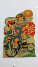 Vintage Used Valentine's Day Card