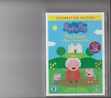 PEPPA PIG THE QUEEN A ROYAL COMPILATION DVD CELEBRATION EDITION KIDS 10 EPISODES