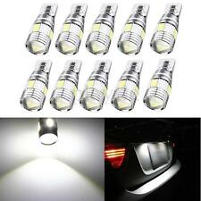 10x T10 W5W 5630 SMD 6 LED HID White Canbus Error Free Car Side Wedge Light Bulb