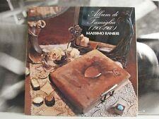 MASSIMO RANIERI - ALBUM DI FAMIGLIA - LP VG+/EX  GATEFOLD SLEEVE 1973 CGD 69034