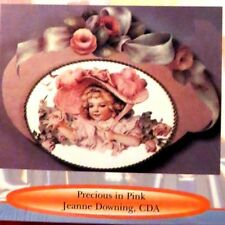 ART LESSON-DECORATIVE ART VIDEO-VHS-JEANNE DOWNING- FACE & FLORAL