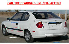 Car Door Side Beading/Molding/Guard/Protector :- HYUNDAI  ACCENT