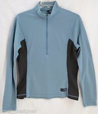 KIDS REI Half Zip Pullover Long Sleeve Hiking Shirt Outdoor stretch top Size L