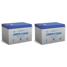 Power-Sonic 2 Pack - 12V 12Ah F2 BATTERY PRIDE JAZZY POWER CHAIR Z-CHAIR