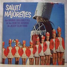 """33T JESSY CLAYTERS Disque LP 12"""" DRUMS MAJORETTES QUICK'S MARCH - TRETEAUX 6060"""