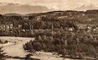 OLD POSTCARD -FRANCE-  7 - PAU - La Chaine des Pyrenees - LL - c 1910