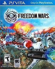 Freedom Wars Playstation Vita PS Vita Game  Brand New - Fast Ship - In Stock