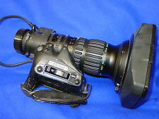 "Fujinon A10x4,8BERM-M28 2/3"" Sony B4 Mount Wide-Angel SD-Broadcast Lens + Case"