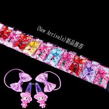40pcs Set Mixed Lot Baby Kids Girls Hair Pins Clips Bow Elastic Hair Bands New