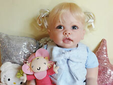 Custom made reborn bébé girl tippi by linda murray pebebe nursery!