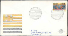 Netherlands 1976 American Revolution FDC First Day Cover #C27585