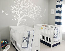 Large tree wall decals, tree wall stickers, Nursery wall tattoos baby room KW32R