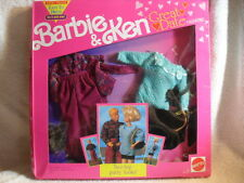 Very Rare Barbie & Ken Hip Party Look Great Date Fashions Outfit 1991 NEW