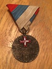 WWI Serbian Red Cross Medal