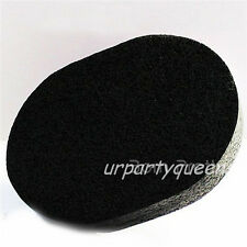 1Pc Bamboo Charcoal Body Facial Cleansing Wash Sponge Puff  Pad Makeup Remover