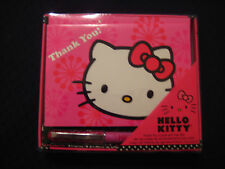 Hello Kitty - Thank You Cards with Pen Set - 10 Cards and 1 Pen