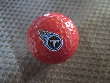 LOGO GOLF BALL-NFL...TENNESSEE TITANS......RED BALL....NEW!!!!