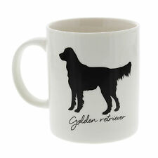 Best Of Breed Golden Retriever Silhouette Typography Style Mug Present Gift