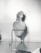 JORDANIE c. 1960  - Poterie Jarre  Femme Amman  - DIV8470