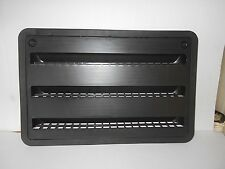 "*RV DOMETIC BLACK 24"" EXTERIOR REFRIGERATOR SERVICE VENT DOOR"