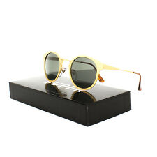 Super Sunglasses PLJ Panama Oro Gold by RETROSUPERFUTURE NEW