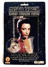 Space Alien Star Trek Major Kira Klingon Nose Bridge Accessory Prosthetic Kit
