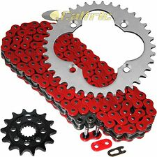 Red O-Ring Drive Chain & Sprockets Kit Fits HONDA TRX450R 2004 2005
