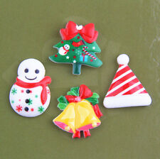 20Pcs Resin Christmas compositions Jewelry Findings Accessories 21mm