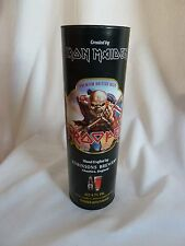 IRON MAIDEN TROOPER BEER GIFT TUBE (ONLY) from ROBINSONS BREWERY - EMPTY TUBE