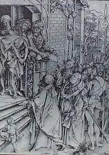 "Albrecht Dürer: ""Christ Before the People"", c.1498,, Magic Lantern Glass Slide"