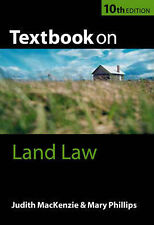 Textbook on Land Law by Mary Phillips, Judith-Anne MacKenzie (Paperback, 2002)