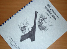 COLT CHALLENGER 22 Cal Automatic Pistol Handgun Owners Manual