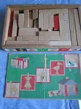 Valigetta Costruzioni in legno anni 70 Boxed