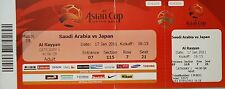 TICKET AFC Asian Cup Qatar 2011 Saudi Arabia - Japan Match 19