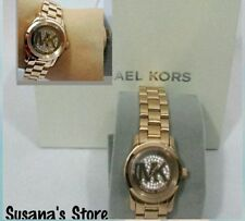 New Michael Kors Runway Women's Rose Gold-Tone Watch, Just gorgeous, a must have