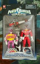 Power Rangers in Space Astro RED New bonus Mighty Morphin PINK SEALED RARE