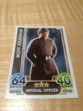 STAR WARS Force Awakens - Force Attax Trading Card #037 Moff Jerjerrod