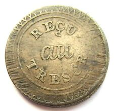 Mauritius British Colony French Coinage 25 Sous ND (1822)