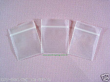 "50 Thick Poly Ziplock Grip Seal Reclosable Zipper Bags 1.2"" x 1.5""_30 x 40mm"
