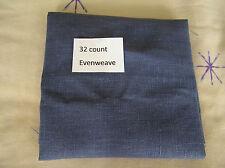 Una pieza of Dark Azul 32 cuentas Tela aida 45.7cm by 30.5cm