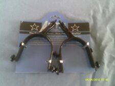 Spurs, Children s Bull Riding with Interchangeable Rowels 15 Degree Offset