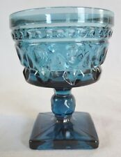 Vintage PARK LANE By COLONY Indiana Glass-CHAMPAGNE/TALL SHERBET-BLUE