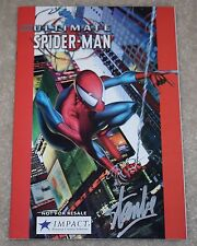 ULTIMATE SPIDER-MAN 1 JMC IMPACT VARIANT SIGNED STAN LEE RAREST ONE OF KIND WOW!