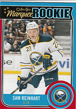 14/15 Upper Deck Series 2 O-Pee-Chee Red Border Sam Reinhart #U18 Sabers 2014/15