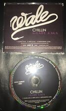 WALE Feat. Lady Gaga Chillin' 3 track promo CD Single 2009