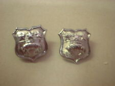OBSOLETE POLICE  COLLAR BADGES , LEEDS CITY POLICE
