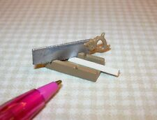 Miniature Mitre Box w/Saw for DOLLHOUSE (Not Real) 1/12 Scale Miniatures