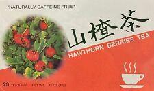1.41oz ABC Hawthorn Berries Tea Remedy Digestive Insomnia Caffeine Free