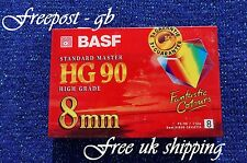 BASF / EMTEC P5-90HG (HIGH GRADE) 8mm / Hi8 / Video 8 CAMCORDER TAPE / CASSETTE